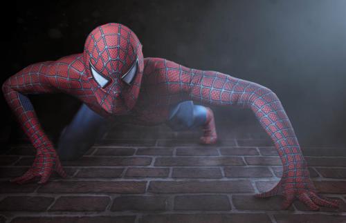 shooting spiderman cassandra-2294